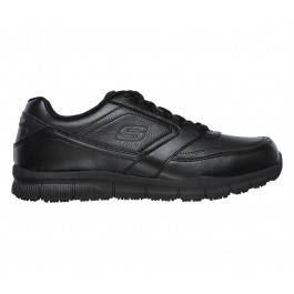 SKECHERS WORK RELAXED FIT NAMPA SR 77156-BLK